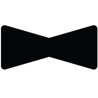 Large Bow Tie Template