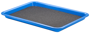 "10"" x 13-1/2"" Waterstone Tray with Non-Slip Grip Mat"