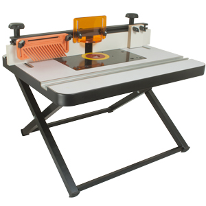 Portable Router Table with Deluxe Fence