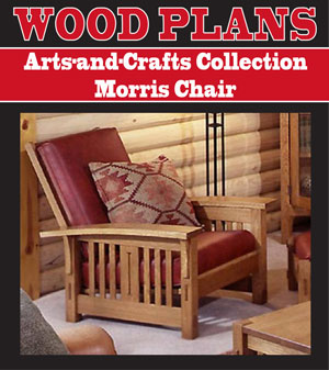 Arts And Crafts Collection Morris Chair Woodworking Plan
