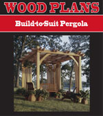 Build-to-Suit Pergola
