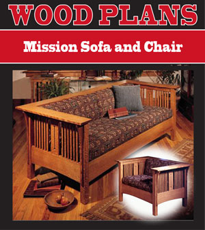 Mission Sofa and Chair Woodworking Plan