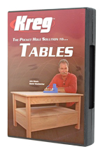Pocket Hole Joinery Tables