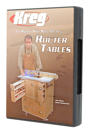 Kreg® Pocket Hole Solution to Router Tables