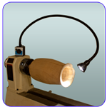 Woodturners Magnetic Base LED Light