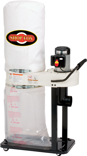 Shop Fox 1 HP Dust Collector - W1727