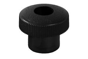 "3//8/"" x 16 thread Plastic Round Knob with 2/"" Stud"