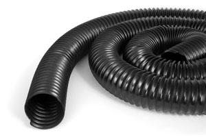 Dust Collection Black Flex Hose