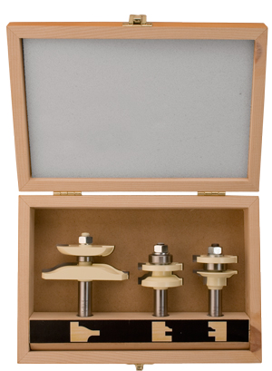 2 Piece 22-1/2° Lock Miter Set