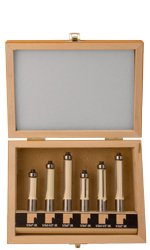6 PC Flush Trim Bit Set