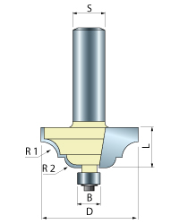 Cove & Bead Router Bit
