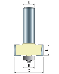 Rabbeting Router Bits with Bearing
