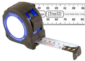 FastCap True 32 Metric Reverse 5M Tape Measure