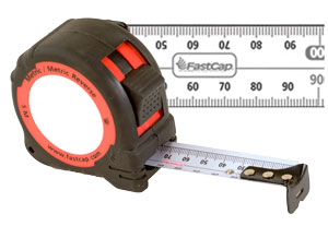FastCap Metric Reverse 16' Tape Measure