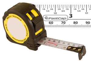FatsCap Metric Reverse 16' Tape Measure