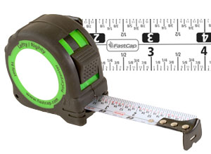 FastCap Standard Reverse 16' Tape Measure