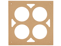 4 Bowl Tray Template