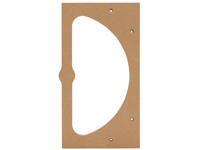 2 Section Tray Template