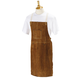 Wood Turners Leather Bib Apron