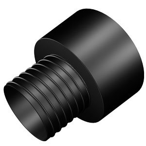 "4"" to 2 1/2"" Threaded Quick Connect Reducer"