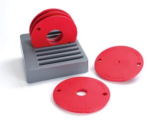 Kreg® Level Lock Rings 5 Peice Set