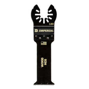 Imperial ONE FIT 1-1/4″ Deep Wood HCS Blade IBOA133