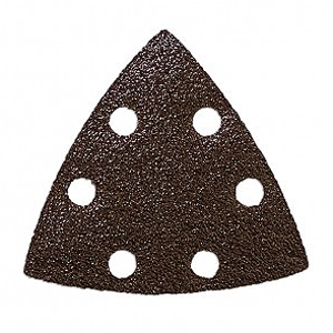 ONE FIT 60 GRIT TRIANGULAR SANDPAPER VACUUM HOLES