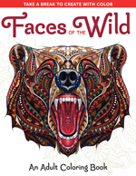 Faces of the Wild: An Adult Coloring Book