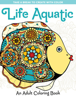 Life Aquatic: An Adult Coloring Book