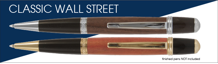 Classic Wall Street Pen Kit Starter Set