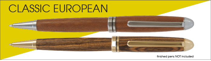 Classic European Pen Kit Starter Set