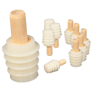 Silicone Bottle Stoppers 10 Pack