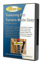 Texturing for Turners Made Easy