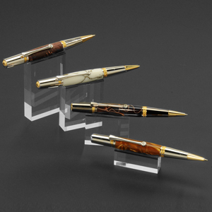 Cascading 4 Pen Display