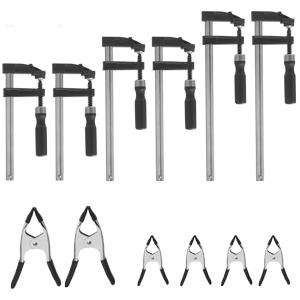 Fulton 12 Piece Woodworkers Clamp Set