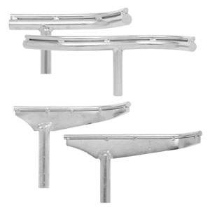 EZ Glide Bowl Turner's 4-Piece Tool rest Set - CLTEZSETC
