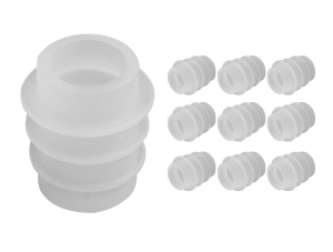 Silicone Bottle Stoppers (10 Pack)