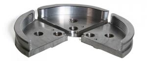 Item #7713- #5 Aluminum Jaws - 3777
