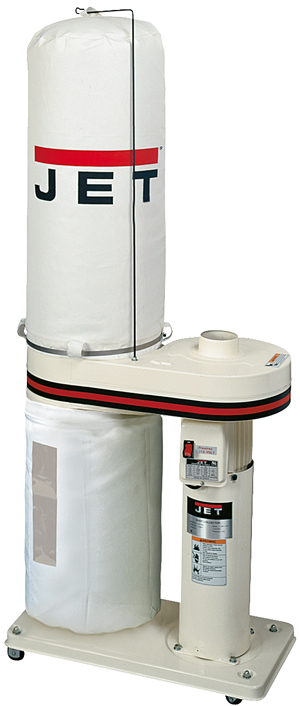 Jet DC-650 1HP CFM Dust Collector with 30 Micron Bag