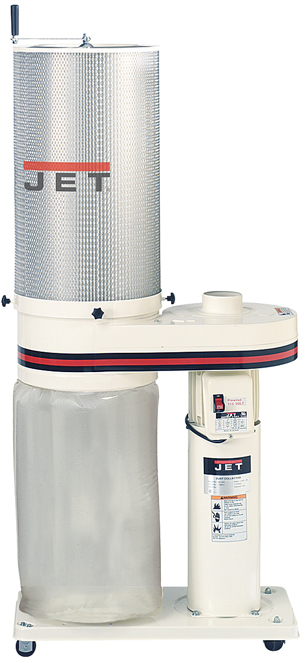 Jet 1 HP Dust Collector with 2 Micron Canister Filter