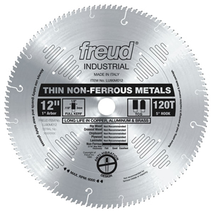 "10"" Industrial Thin Stock Non-Ferrous Metal Blade"