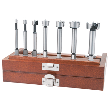 Stone Mountain 7 Piece Forstner Bit Set