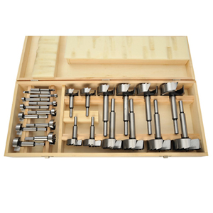 24 Piece Forstner Bit Set