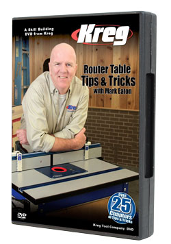 Kreg Router Table Tips and Tricks
