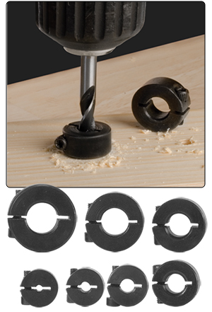 7 Piece Split Ring Depth Stop Set
