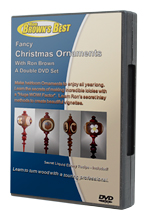 Fancy Christmas Ornaments - 2 DVD's