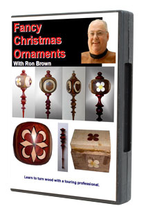 Fancy Christmas Ornaments by Ron Brown DVD - 2 Disc Set