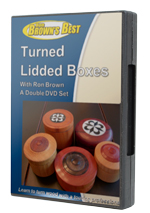 Turned Lidded Boxes