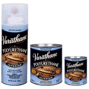 VarathaneR Polyurethane Water Based