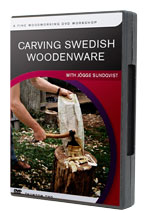 Carving Swedish Woodenware